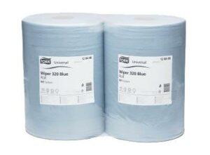 Салфетка протирочная 2-х слойная TORK Blue