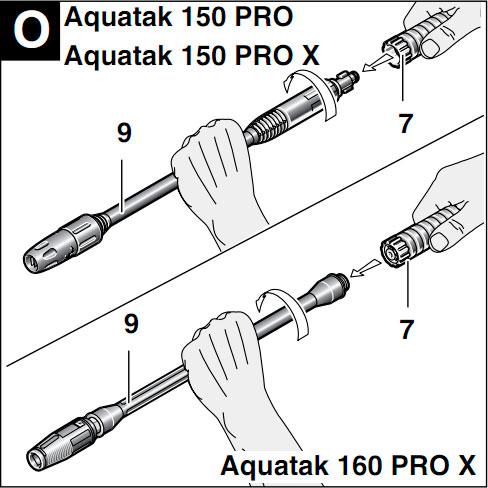 Bosch Aquatak 160 Pro X