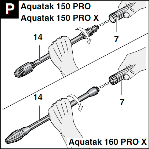 Пенная насадка LS3 для мойки Bosch Aquatak 160 Pro X foam-lance-bosch-aquatak-150-pro-pro-x-160-pro-x